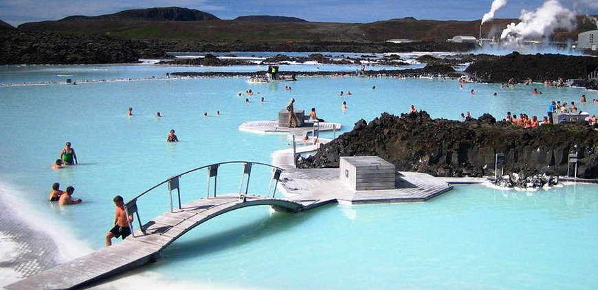 A nice day at the Blue Lagoon