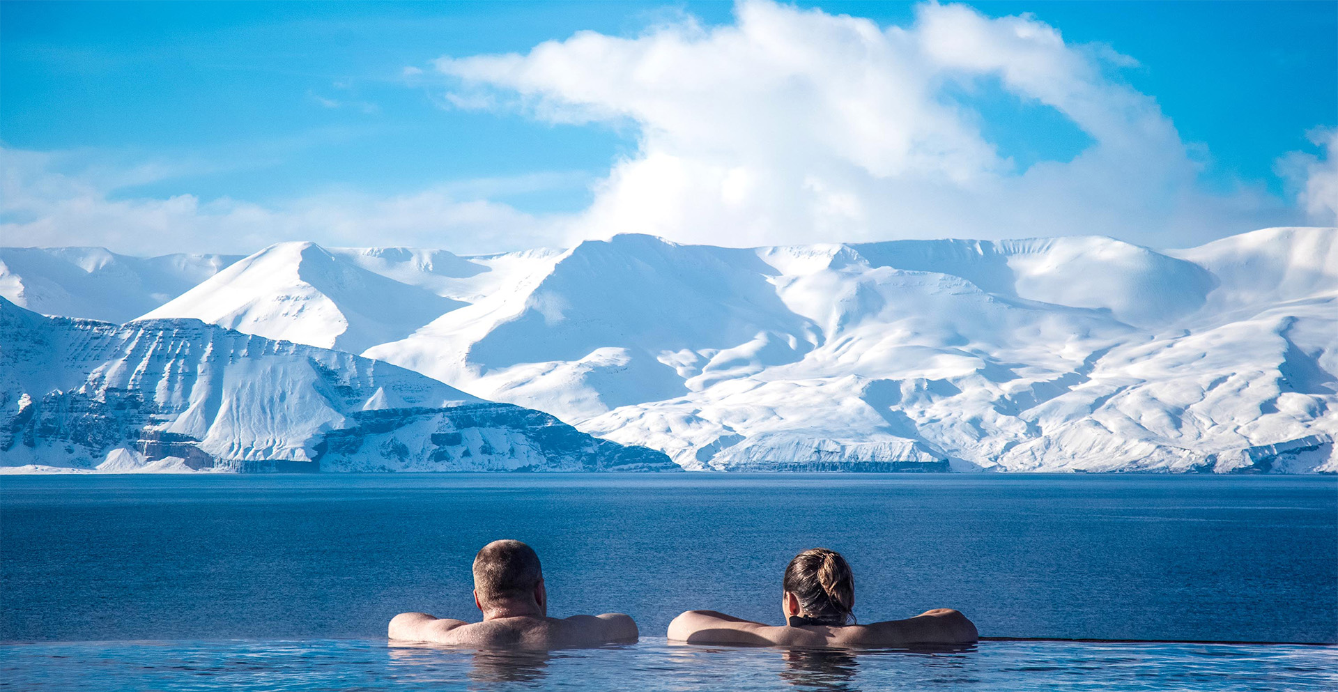 GeoSea baths in Husavik are featured on Iceland Discovery private tours