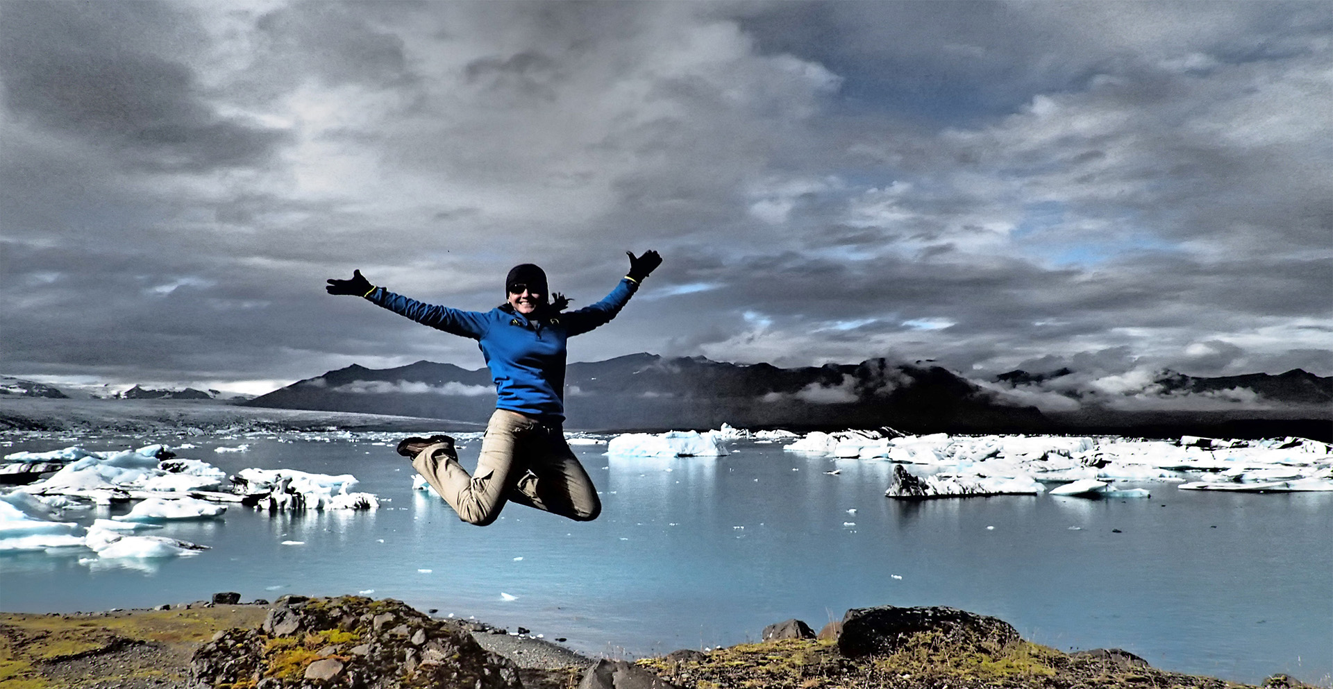 Glacier Lagoon on Iceland Discovery private tours