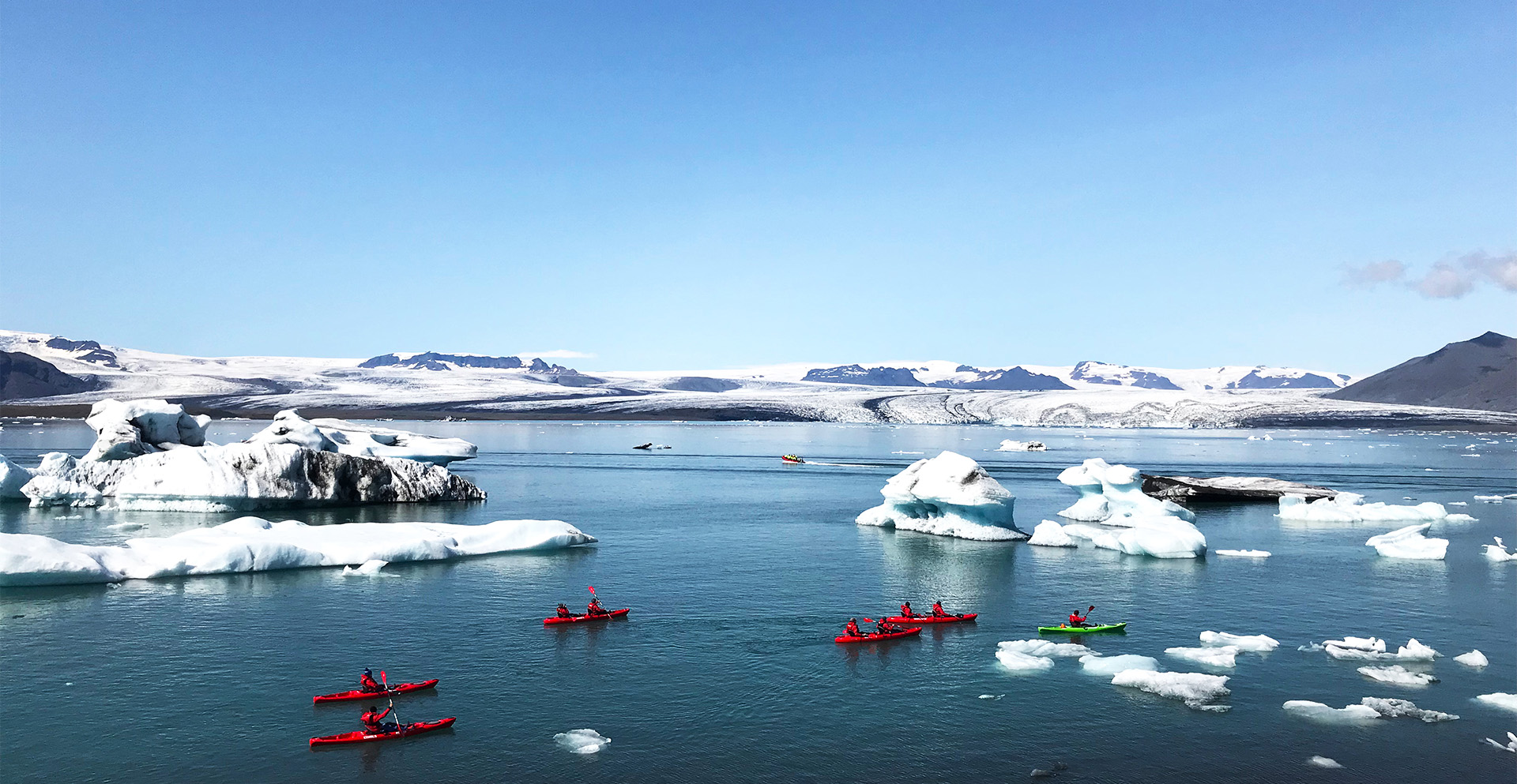 Kayaking on Iceland Discovery private tours