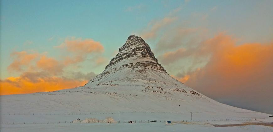 Mt Kirkjufell on Snæfellsnes peninsula