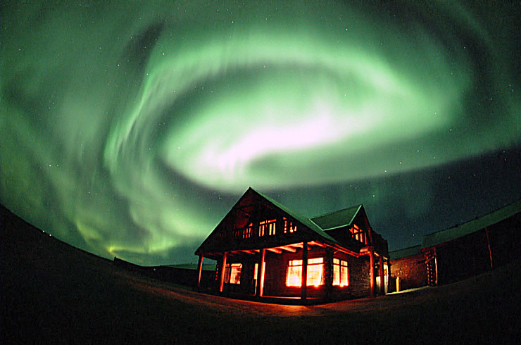 Northern Lights and Hotel Rangá