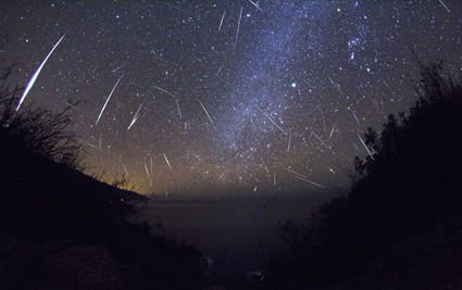 Orionids in the sky