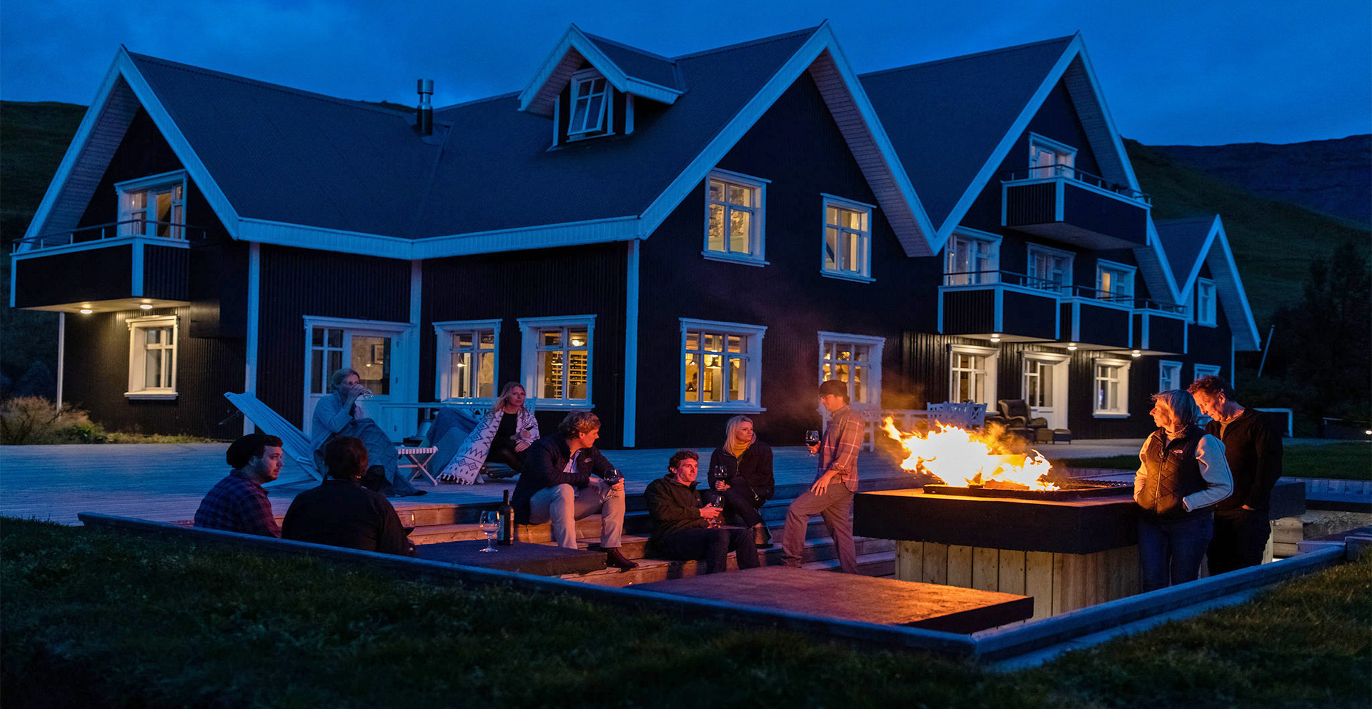 Boutique hotel Skalakot on Iceland Discovery private tours
